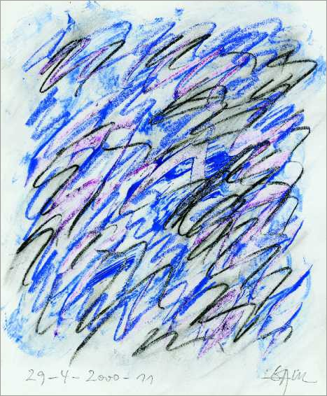 Malerei auf Papier