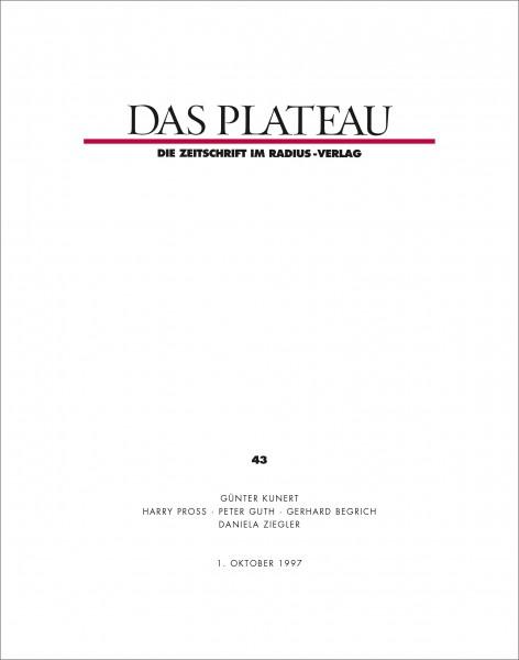 DAS PLATEAU No 43