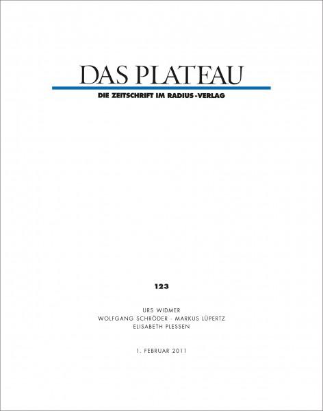 DAS PLATEAU No 123