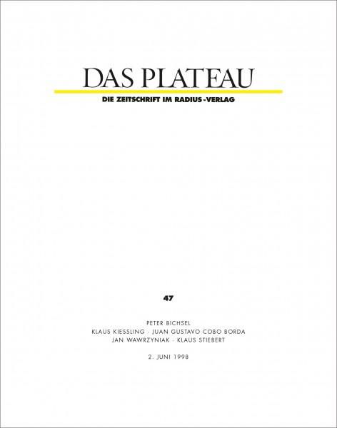 DAS PLATEAU No 47