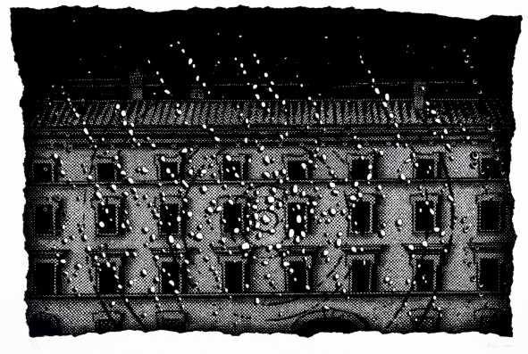 »Regen und Fenster«