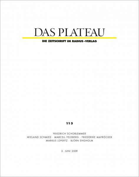 DAS PLATEAU No 113