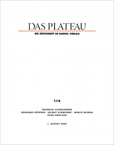DAS PLATEAU No 114