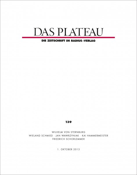 DAS PLATEAU No 139