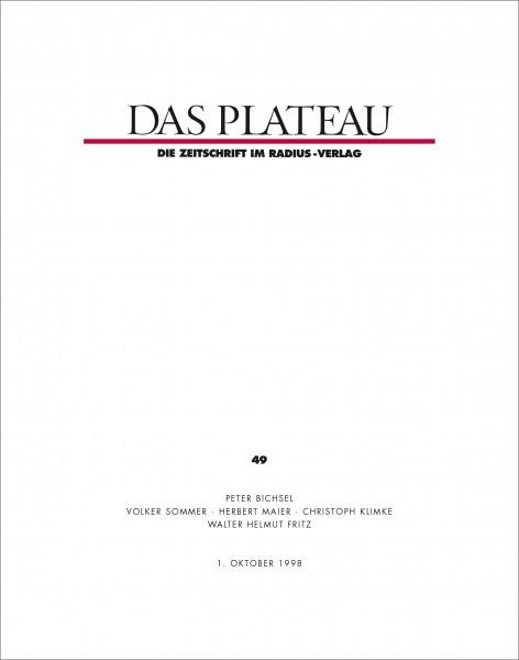 DAS PLATEAU No 49