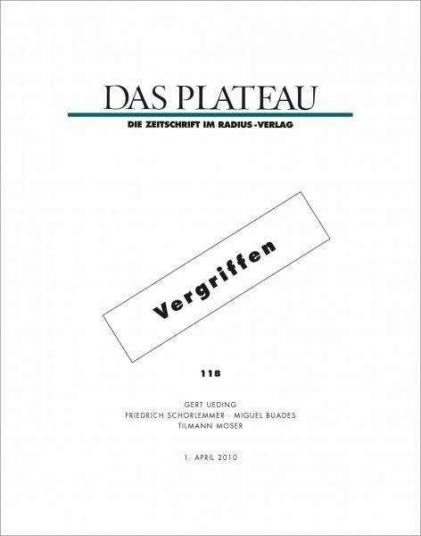 DAS PLATEAU No 118
