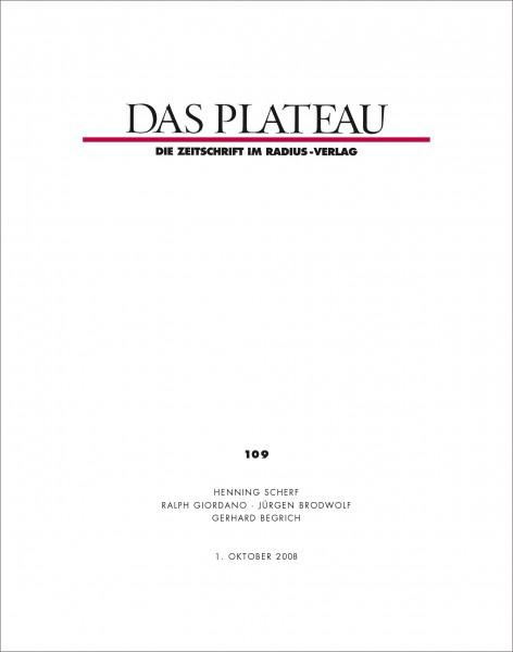 DAS PLATEAU No 109