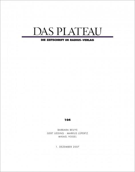 DAS PLATEAU No 104