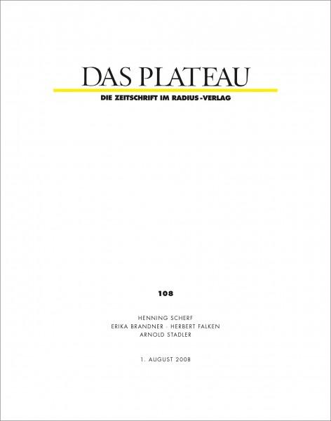 DAS PLATEAU No 108