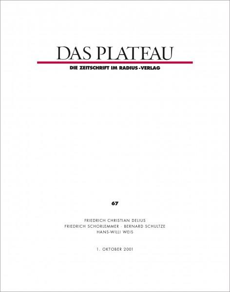 DAS PLATEAU No 67