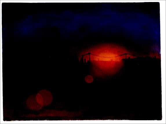 aus dem Zyklus »Bei Nacht und Nebel«