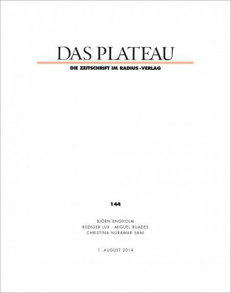 DAS PLATEAU No 144