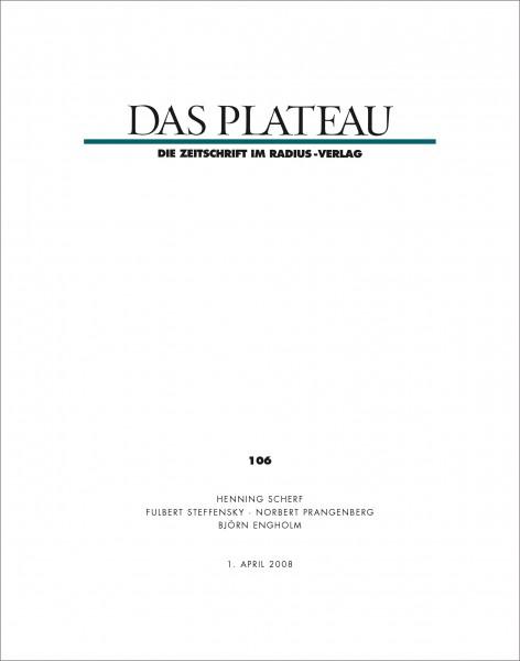 DAS PLATEAU No 106