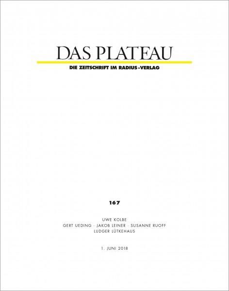 DAS PLATEAU No 167