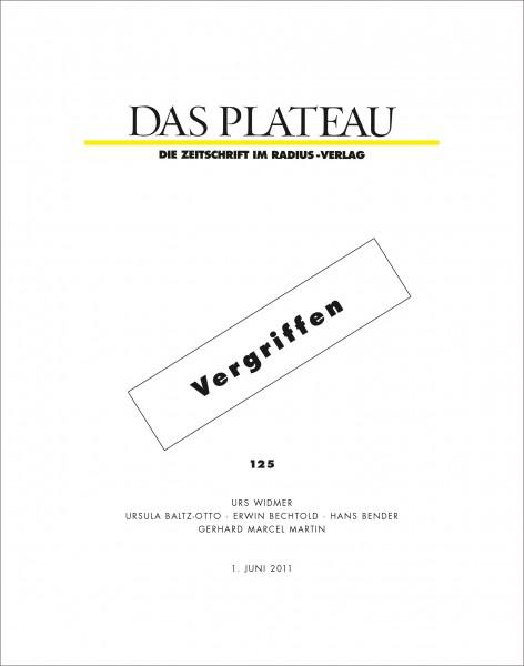 DAS PLATEAU No 125