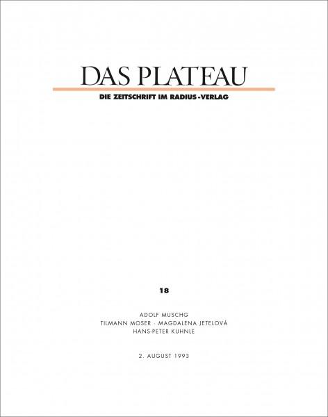DAS PLATEAU No 18