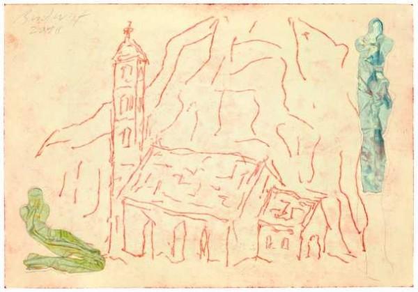 »Kirche im Valle Leventina«