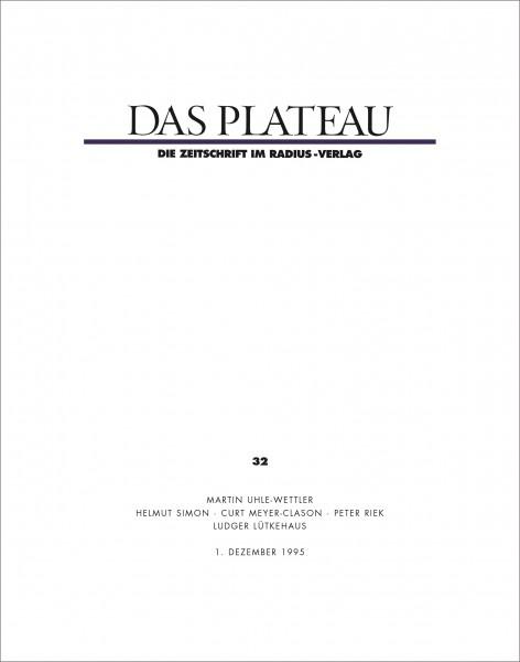 DAS PLATEAU No 32
